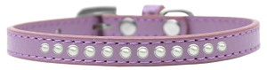 Pearl Size 12 Lavender Puppy Collar