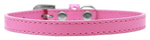 Omaha Plain Puppy Collar Bright Pink Size 12