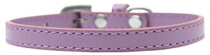 Omaha Plain Puppy Collar Lavender Size 8