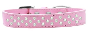 Sprinkles Dog Collar Pearls Size 14 Light Pink