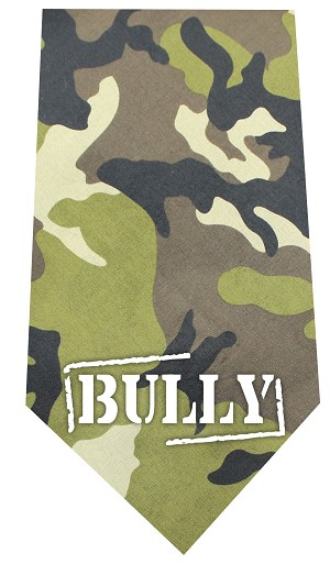 Bully Screen Print Bandana Green Camo