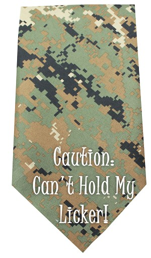 Cant Hold Licker Screen Print Bandana Digital Camo