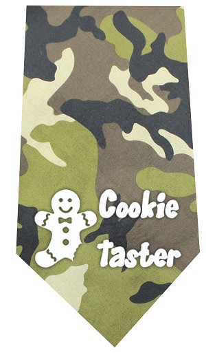 Cookie Taster Screen Print Bandana Green Camo