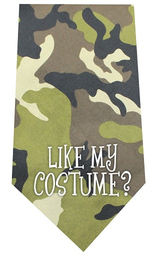 Like my Costume Screen Print Bandana Green Camo