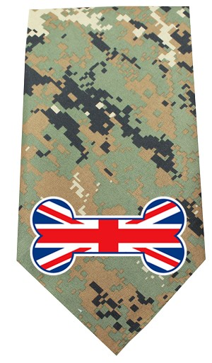 UK Bone Flag Screen Print Bandana Digital Camo