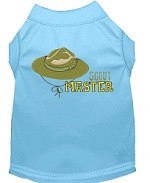 Scout Master Embroidered Dog Shirt Baby Blue Sm (10)