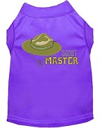 Scout Master Embroidered Dog Shirt Purple Sm (10)
