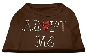 Adopt Me Rhinestone Shirt Brown XXL (18)