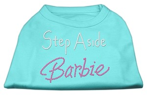 Step Aside Barbie Shirts Aqua XS (8)