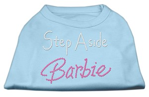 Step Aside Barbie Shirts Baby Blue XS (8)
