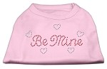 Be Mine Rhinestone Shirts Light Pink XS (8)