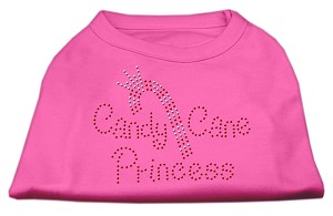 Candy Cane Princess Shirt Bright Pink XXL (18)