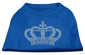 Rhinestone Crown Shirts Blue Med (12)