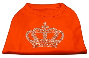 Rhinestone Crown Shirts Orange XL (16)
