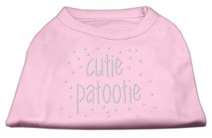 Cutie Patootie Rhinestone Shirts Light Pink MD (12)
