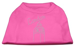 London Rhinestone Shirts Bright Pink XS (8)
