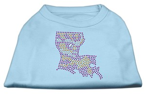 Louisiana Rhinestone Shirts Baby Blue S (10)