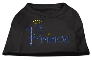 Prince Rhinestone Shirts Black XL (16)