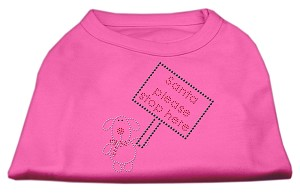 Santa Stop Here Shirts Bright Pink XL (16)