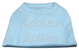 Spoiled Rotten Rhinestone Shirts Baby Blue XL (16)