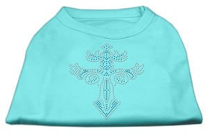 Warrior's Cross Studded Shirt Aqua XXXL(20)