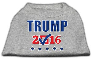 Trump Checkbox Election Screenprint Shirts Grey Sm (10)