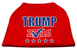 Trump Checkbox Election Screenprint Shirts Red Lg (14)
