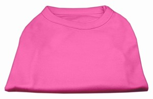 Plain Shirts Bright Pink Med (12)