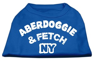 Aberdoggie NY Screenprint Shirts Blue Med (12)
