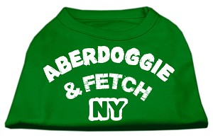 Aberdoggie NY Screenprint Shirts Emerald Green XXL (18)
