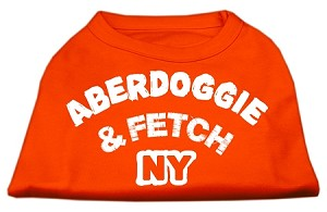 Aberdoggie NY Screenprint Shirts Orange XXXL (20)