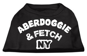 Aberdoggie NY Screenprint Shirts Black XL (16)