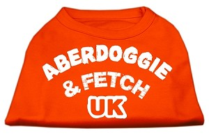 Aberdoggie UK Screenprint Shirts Orange XXXL (20)