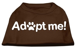 Adopt Me Screen Print Shirt Brown XL (16)