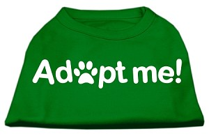 Adopt Me Screen Print Shirt Green Lg (14)