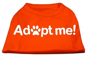 Adopt Me Screen Print Shirt Orange XXXL (20)