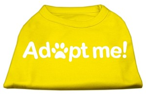 Adopt Me Screen Print Shirt Yellow XXXL (20)