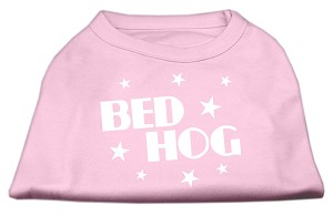 Bed Hog Screen Printed Shirt Light Pink XS (8)