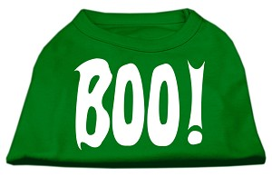 Boo! Screen Print Shirts Emerald Green Lg (14)
