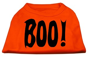 Boo! Screen Print Shirts Orange XL (16)