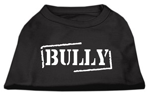 Bully Screen Printed Shirt Black XXL (18)