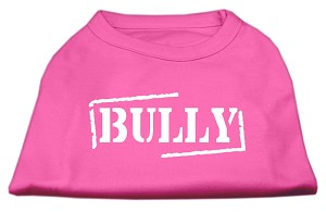 Bully Screen Printed Shirt Bright Pink XS (8)