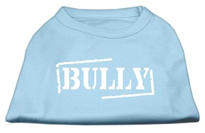 Bully Screen Printed Shirt Baby Blue Lg (14)