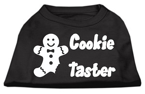 Cookie Taster Screen Print Shirts Black Med (12)
