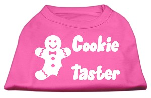 Cookie Taster Screen Print Shirts Bright Pink XXL (18)