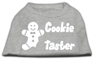 Cookie Taster Screen Print Shirts Grey Lg (14)