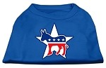 Democrat Screen Print Shirts Blue XS (8)