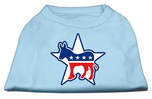 Democrat Screen Print Shirts Baby Blue XL (16)