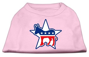 Democrat Screen Print Shirts Light Pink S (10)