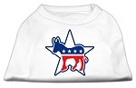 Democrat Screen Print Shirts White XS (8)